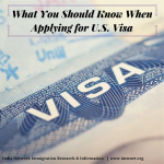 What you should know when applying for U.S. Visa