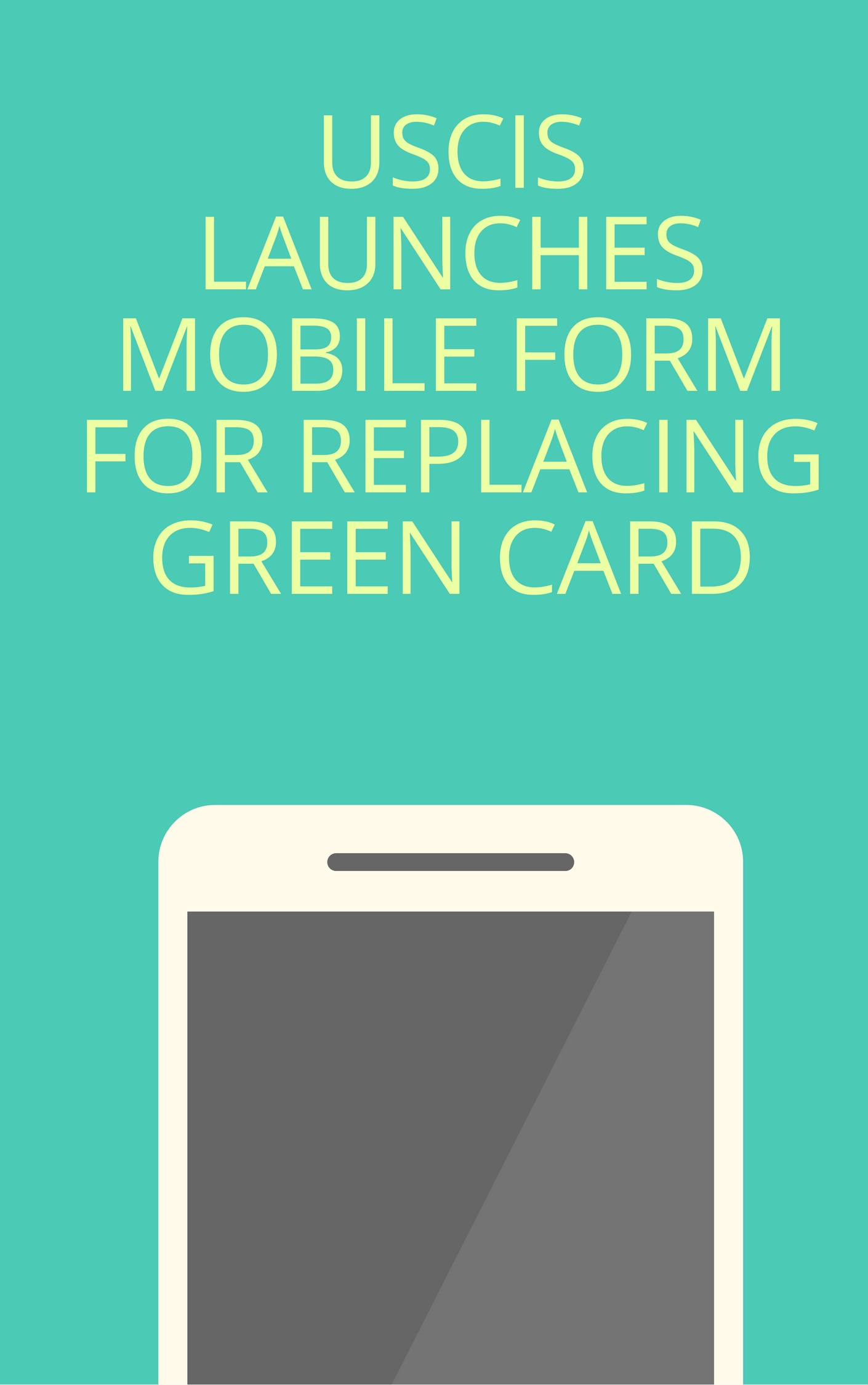 Uscis Launches Mobile Form For Replacing Green Card India Network